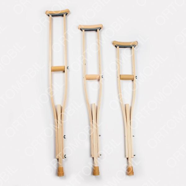 Carja cu sprijin subaxial din lemn Ortomobil 02102